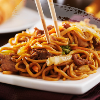 Order Happy Noodles from The Hot Wok